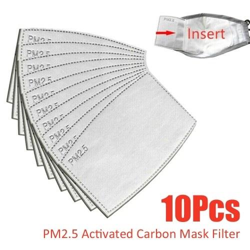 Filtro de cubierta frontal PM2.5 Equipo de protección de filtro a prueba de polvo de carbón activado reemplazable