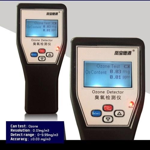 Анализатор озона высокой точности детектора озона дисплея LCD портативный фото