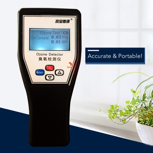 LCD Display Handheld Portable Ozone Detector High Accuracy Ozone Tester Analyzer