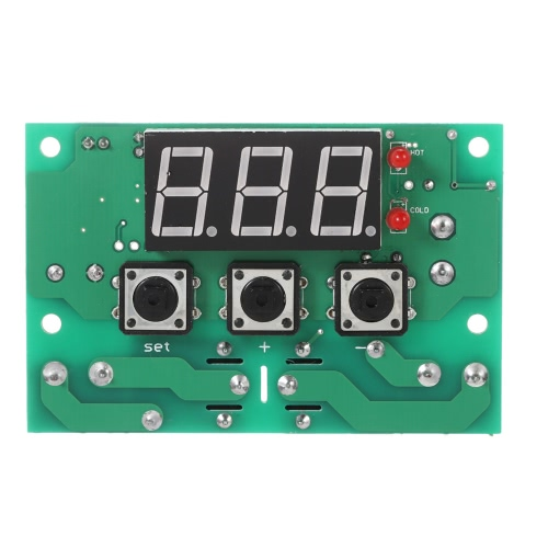 Adjustable Automatic Switch Thermostat 12V Temperature Controller 2 Channel Relay Output High/Low Temperature Alarm