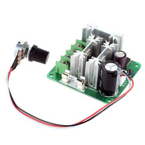 Adjustable DC Motor Speed PWM Controller Adjuster PLC Control 6V 12V 36V 60V 90V 1000W Pulse Width 0%-100%