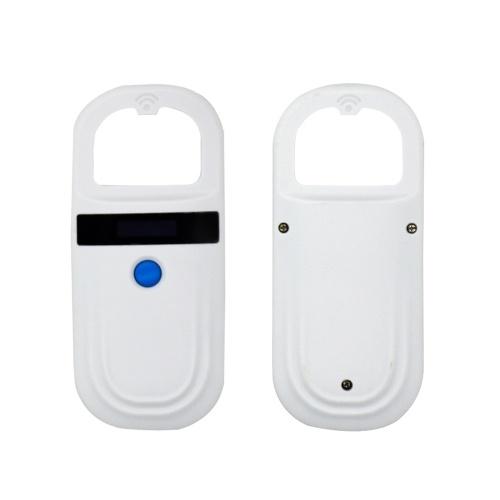 Lector de tarjetas Escáner de identificación con chip animal recargable Escáneres de microchip Escáner de etiquetas para mascotas