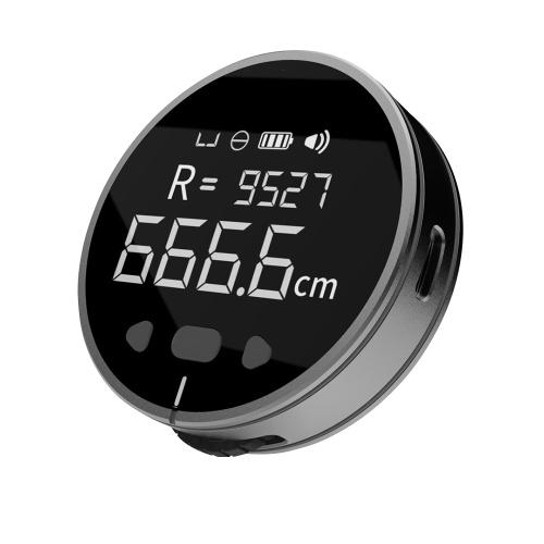 リトルQ 8 in 1電子定規LCDディスプレイレンジファインダー99m高精度ハンドヘルド長さ測定ツールロングスタンバイ充電式定規
