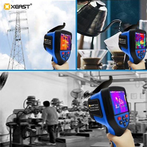 XEAST XE-32 3.5 Inch TFT Display Screen 220 * 160 Infrared Radiation Resolution Portable Thermal Camera Thermal Imager IR Indicator Thermal Camera Temperature Multifunction Measuring Instrument