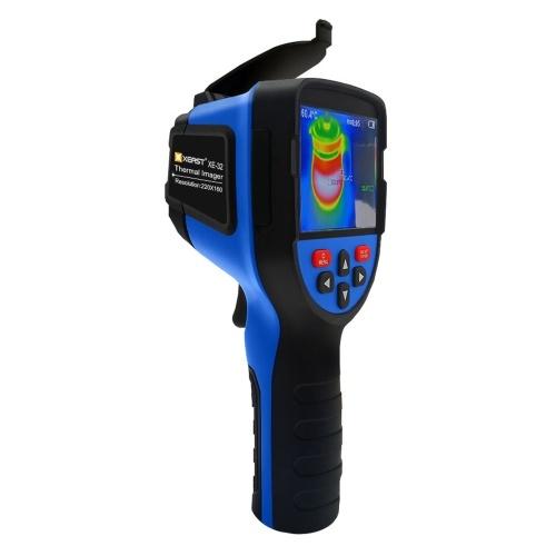 XEAST XE-323.5インチTFTディスプレイ画面220 * 160赤外線放射分解能ポータブルサーマルカメラサーマルイメージャーIRインジケーターサーマルカメラ温度多機能測定器