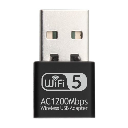 2.4G 5G AC1200Mbps Wireless Network Card USB Adapter Dual Band WIFI Receiver RTL8812