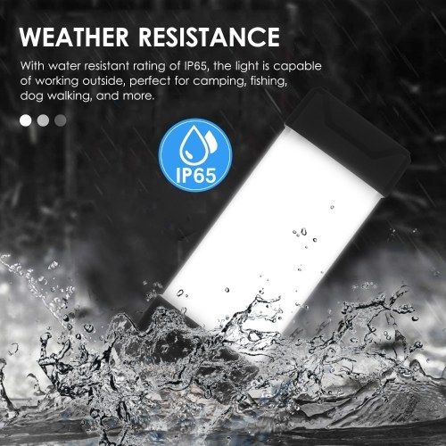 Portable Outdoor LED Camping Lantern Magnetic Handheld Flashlight