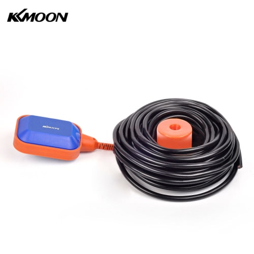 KKmoon High Quality 15m Automatic Square Float Switch Liquid Fluid Level Controller Sensor for Water Tank Tower