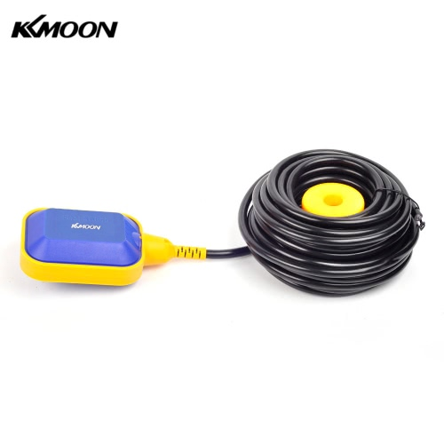 KKmoon 10m Automatic Square Float Switch Liquid Fluid Level Controller Sensor for Water Tank Tower
