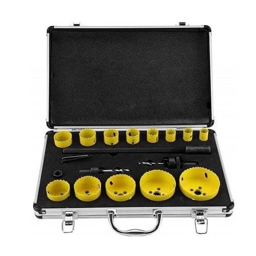 20 piezas M42 Juego de sierra de agujero de acero Perforador Kit de accesorios de herramienta de roscado de brocas para madera de acero de aluminio Pood