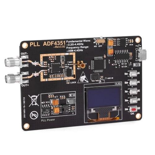 35 мГц ~ 4400 мГц OLED-дисплей генератор радиочастотных сигналов ADF4351 модуль развертки генератор частоты PLL