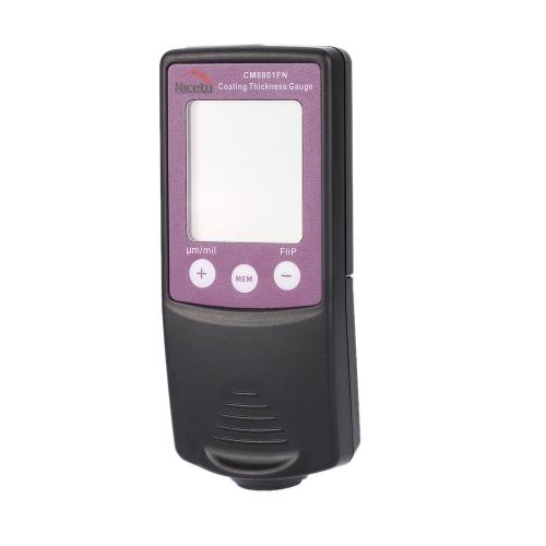 Nicety CM8801FN Handheld Digital Coating Thickness Gauge Tester Fe/NFe Coatings Data Storage