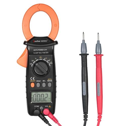RuoShui 3999はハンドヘルドデジタルクランプメーターを数えますマルチメーターAC / DC電圧電流ポータブルLCDディスプレイ自動レンジテスト温度容量抵抗周波数ダイオードデューティサイクルテスター