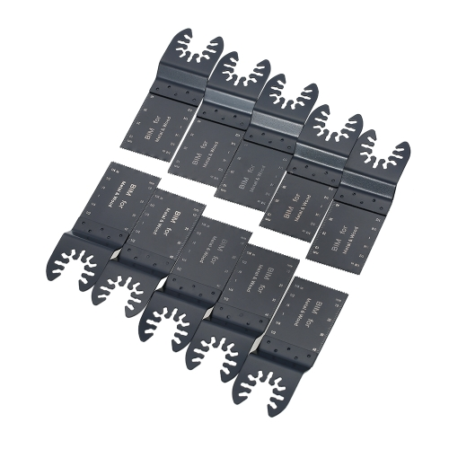 10pcs/set Oscillating Saw Blade Multiple Tool Kit