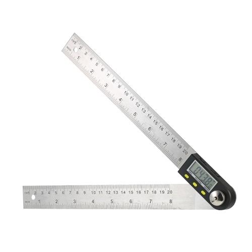 0-200 мм / 8 дюймов Нержавеющая сталь Цифровой гравировальный линейный искатель с функцией реверсивного считывания