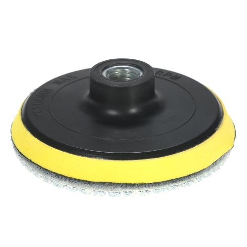 11pcs 4 Diamond Wet Polishing Pads Grinding Disc + 1pc Backing Pad for Granite Marble Stone Ceramic Tile Concrete