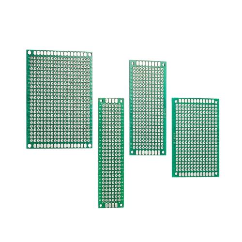 40 sztuk Dwustronnie Prototyp PCB Pokładzie Uniwersalny Zestaw Obwodów drukowanych dla Elektronicznego DIY Projektu 2 * 8 cm / 3 * 7 cm / 4 * 6 cm / 5 * 7 cm 4 Rozmiary