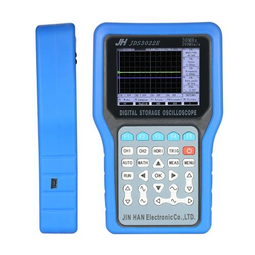 Misuratore di oscillazione portatile a più canali con memorizzazione digitale a 2 canali 50MHz 500MSa / s con generatore di segnale
