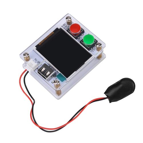 """DIY Kit 1.8 """"Ekran Wyświetlacz LCD Tranzystor Tester Odporność Diody Pojemność ESR Metr ATmega328 z Przypadku akrylu"""