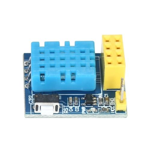 ESP8266 DHT11 Módulo Sensor de Umidade de Temperatura ESP-01S Placa Transceptor Serial Transceptor Sem Fio para Arduino