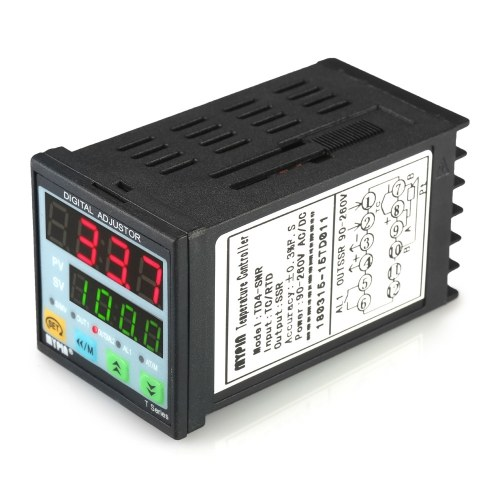 Termometro digitale PID LED manuale / automatico Termometro SNR 1 Ingresso relè allarme Ingresso TC / RTD