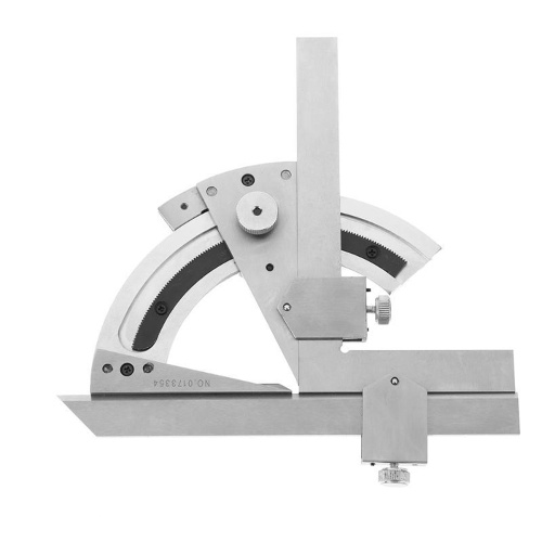 Strumento di misurazione angolare multifunzione 0-320 Gradi Finder Ruler Tools Universal Bevel Protractor