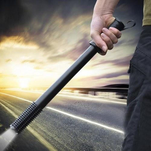 Emergenza esterna anti lupo autodifesa strumenti lampada torcia potente lampada difensiva di emergenza con torcia a LED