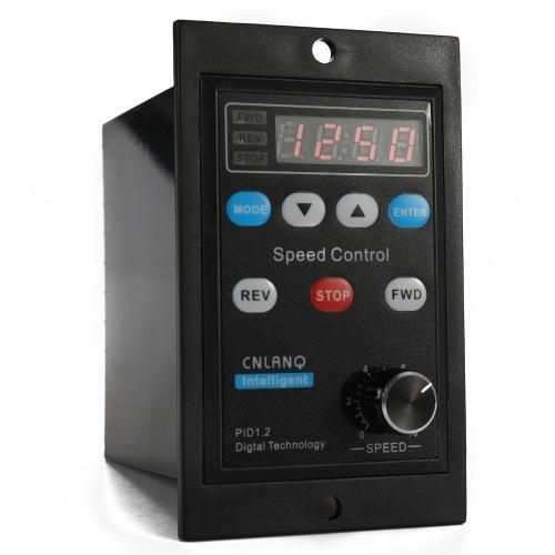 デジタルディスプレイモータースピードコントローラーモーターガバナーソフトスタートツール220V AC 400W