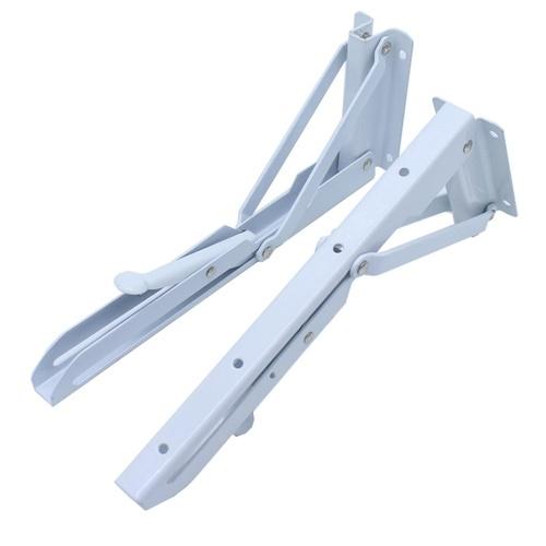 Staffa pieghevole per mensola triangolare da tavolo 2Pcs