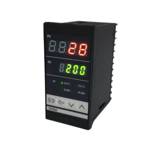 Digital PID dual display Temperature Controller Max Test Temperature 1372 Degree Thermoregulator with Alarm Relay Output CH402