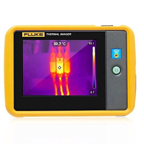 Cámara termográfica FLUKE PTi120 Cámara portátil de bolsillo con cámara termográfica Imagen infrarroja Senor de mano 10800 píxeles Cámara termográfica Cámara Termómetro infrarrojo Resolución 120x90