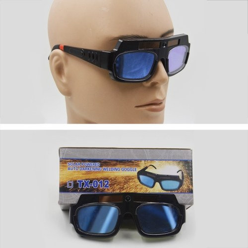 Automatic variable light electric welding glasses welder's strong light and ultraviolet protective goggles фото