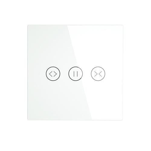 インテリジェントWIFIカーテンブラインドスイッチ電動モーター付きカーテンローラーシャッターコントロールスイッチ携帯電話APPリモコンAlexa Googleホームと互換性あり