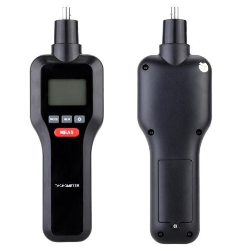 2 в 1 Бесконтактный и контактный цифровой лазерный тахометр