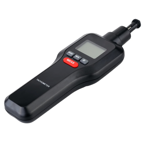 2 in 1 Non-contact & Contact Digital Laser Tachometer Tach RPM Tester