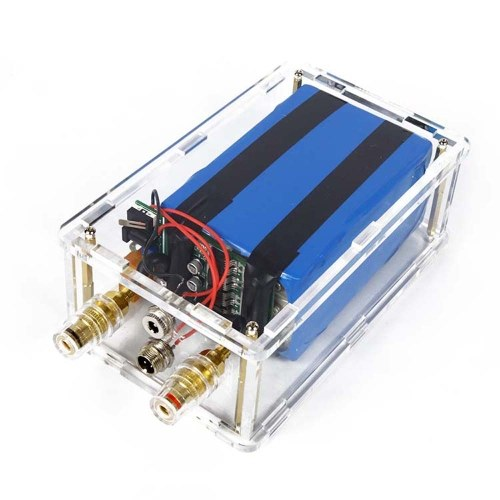 Mini Portable DIY Spot Welding Machine Transparent Acrylic Outshell Foot Pedal Type with Battery