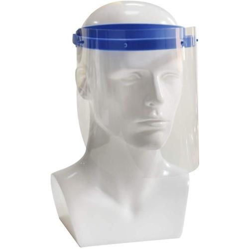 10Pcs Safety Face Shield Replaceable Full Face Mask Transparent Protective Mask Visor Protection against Splash Fluid Splatter Fog