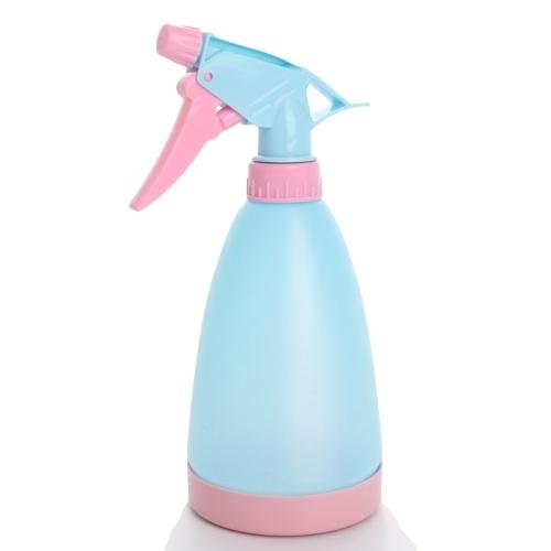 Leere Sprühflasche 500 ml Auslaufsicher Einstellbare Düse Nachfüllbare chemikalienbeständige Hochleistungsflasche und Sprühhaushalts-Flüssigkeitsspender für den Haushalt