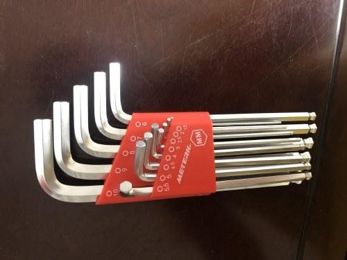 Meterk 35PCS Allen Wrench Kit MK51(Included S2 material)
