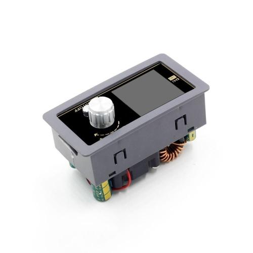DC DC Buck Converter CC CV Power Module 0.6-30V 5A Adjustable Regulated Power Supply Voltmeter Ammeter CNC Color Screen 80W