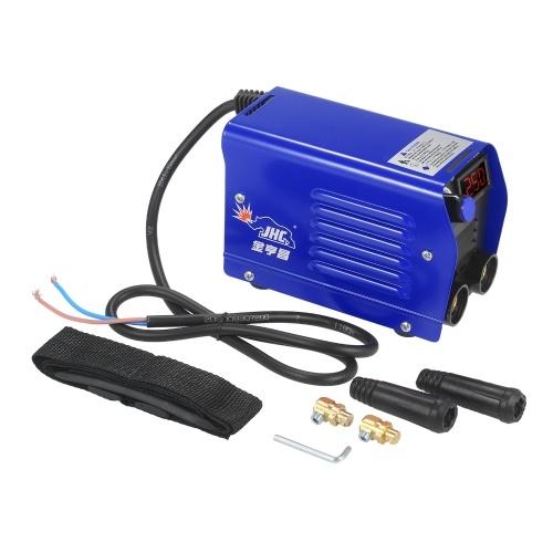 250 Ampere Lichtbogenschweißgerät Digitaler Wechselrichter IGBT Stick 220V Mini tragbare elektrische Schweißmaschine mit LED-Anzeige Schnellanschluss für Anfänger
