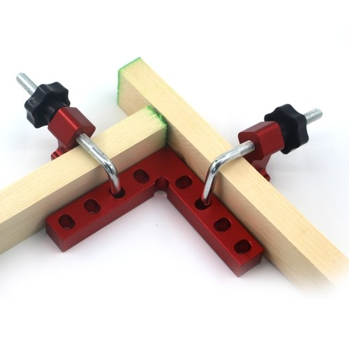 Woodworking Tool Square 90 ° Right Angle Clamp Woodworking Fixed Fixture Woodworking Adjustable Corner Clamping Ruler Right-angle Ruler