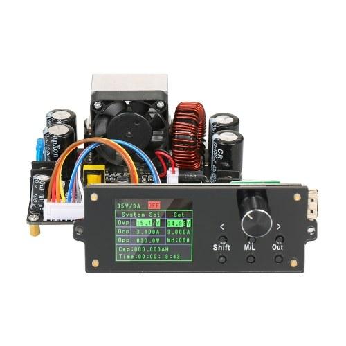 Серия DPX 1,8-дюймовый цветной экран с ЧПУ Регулируемый источник питания постоянного напряжения Понижающий модуль Встроенный вольтметр Амперметр 0-62,00 В / 0-12 000 A DPX6012S
