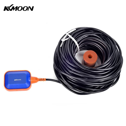 KKmoon High Quality 35m Automatic Square Float Switch Liquid Fluid Level Controller Sensor for Water Tank Tower