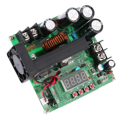 900W Control Digital DC-DC Boost Módulo 0-15A EN 8-60V OUT 10-120V Step-up convertidor de alimentación CC / CV Pantalla LED