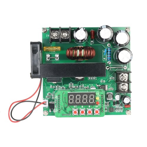 900W Commande numérique DC-DC Boost Module 0-15A IN 8-60V OUT 10-120V Step-up convertisseur d'alimentation CC / CV LED Display