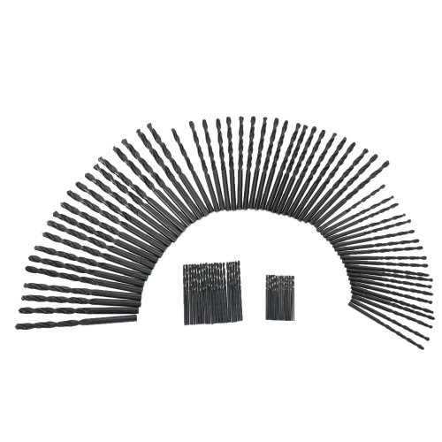100pcs/set High Quality HSS Twist Drill High Speed Steel Twist Drill Bits Tool Set 1mm-5mm