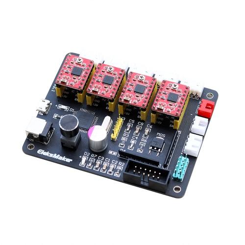 EleksIVAxis XYZA 4 Eje Controlador de motor paso a paso
