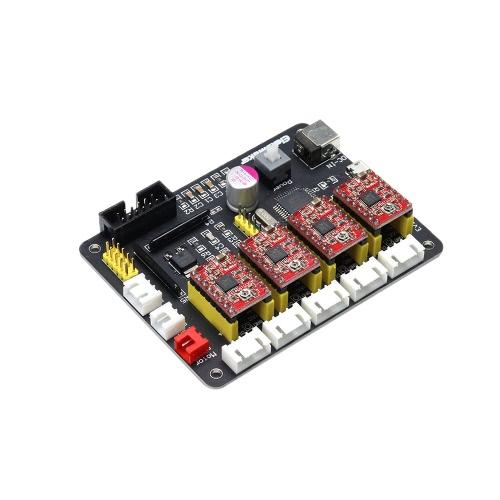 EleksMaker EleksIVAxis XYZA 4-шаговая панель управления драйвером для шагового двигателя для DIY-лазера