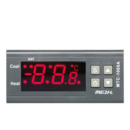 AC220V Digital LED Temperature Controller Thermometer